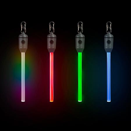 RADIANT RECHARGEABLE LED GLOW STICK - DISC O SELECT