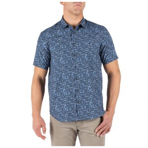 MICRO CAMO SHORT SLEEVE SHIRT