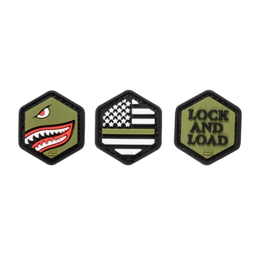HEX PATCH ARMED FORCES SET
