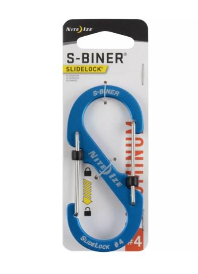S-BINER SLIDELOCK AS #4 - BLUE